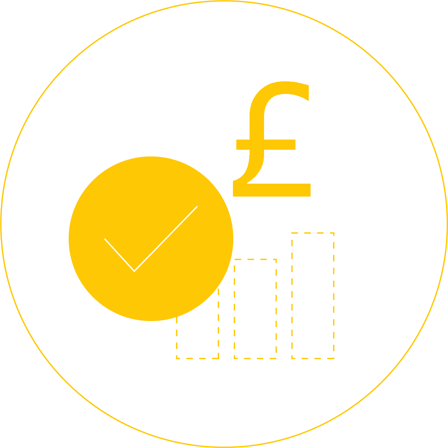 Icon showing a chart and a pound sign